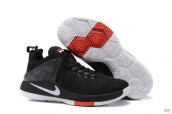 Nike Lebron James Zoom Witness 1 Black Dark Grey White Red