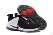 Nike Lebron James Zoom Witness 1 Black White Red