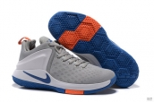 Nike Lebron James Zoom Witness 1 Grey White Blue Orange