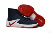Nike Zoom Clear Out Navy Blue Red White
