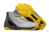 UA Curry III Grey Yellow