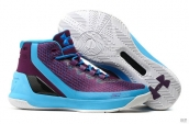 UA Curry III Purple Blue Black