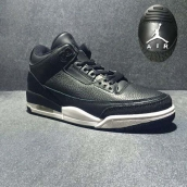 Perfect Air Jordan 3 Black White