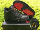 Perfect Air Jordan 3 OVO Black Red