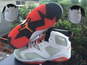 Air Jordan 6 AAA Women Bugs Bunny White Red