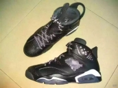 Super Perfect Air Jordan 6 3M Black Cat 330