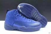 Super Perfect Air Jordan 12 Wool Blue 350