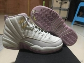 Super Perfect Air Jordan 12 Women Sakura Pink 320