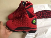 Super Perfect Air Jordan 13 Sngl DY Red Black 450