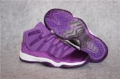 Perfect Air Jordan 11 Purple Velvet