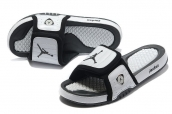 Air Jordan Slipper Black White