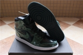 Perfect Air Jordan 1 Black Green