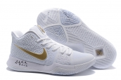 Nike Kyrie 3 White Gold