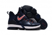 Nike LeBron 14 Red Navy Blue
