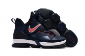 Nike LeBron 14 Kid Navy Blue Red