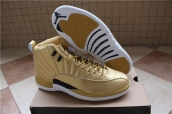 Perfect Air Jordan 12 Pinnacle Gold