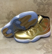 AAA Air Jordan 11 Pinnacle Gold