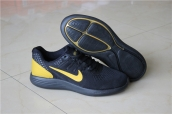 Women Nike Lunar Black Yellow