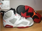 Perfect Air Jordan 6 Bugs Bunny White Red
