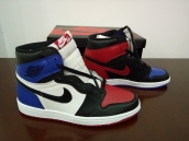AAA Air Jordan 1 Black Blue Red