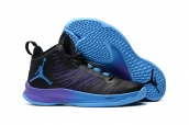 Air Jordan Super Fly 5 X Black Blue