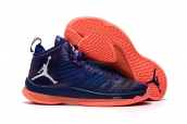 Air Jordan Super Fly 5 X Purple Orange