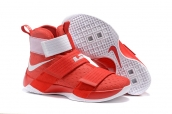 Nike Lebron Zoom Soldier 10 Red White