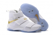 Nike Lebron Zoom Soldier 10 White Gold