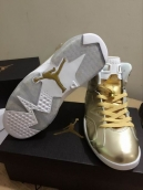 Perfect Air Jordan 6 Gold