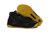 Ua Curry III Black Yellow