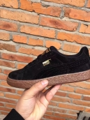 Puma Suede Black Rose