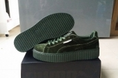 Puma by Rihanna Suede Creepers Green