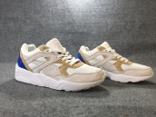 PUMA R698 White Brown Blue