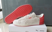 Puma Suede Basket Heart Women  Pink White