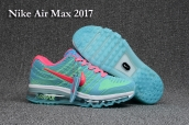 Nike Air Max 2017 KPU Women Pink Blue