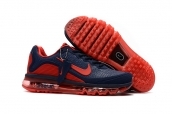Nike Air Max 2017 KPU Navy Blue Red