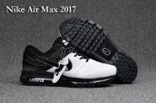 Nike Air Max 2017 KPU White Black