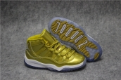 Air Jordan 11 Kid Gold