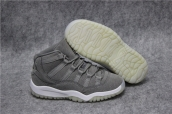 Air Jordan 11 Kid Grey Wool