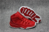Air Jordan 11 Kid Red
