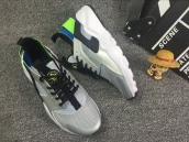 Nike Air Huarache 5 Silvery Blue Black