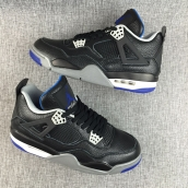 Air Jordan 4 Super Perfect Black Blue