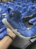 Perfect Air Jordan 7 Women Blue