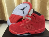 Super Perfect Jordan 5 Red Raging Bulls