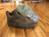 Super Perfect Air Jordan 4 Cool Grey  x KAWS