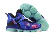 Nike Lebron 14 Blue Stars Glow in Dark