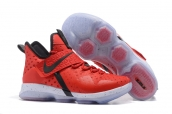 Nike Lebron 14 Red Black