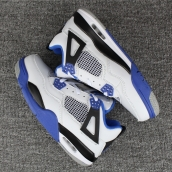 AAA Air Jordan 4 White Blue