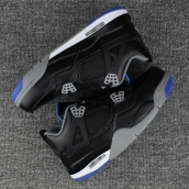 AAA Air Jordan 4 Black Blue