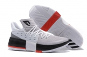 Adidas D Lillard 3 White Red Black